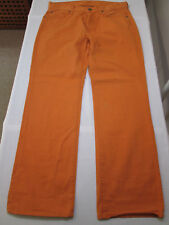 7 For All Mankind Orange Jeans -  Size 31W/28.5L