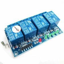 12V 4 Channel Relay Module High Level Trigger PLC Control for Arduinno AVR 51