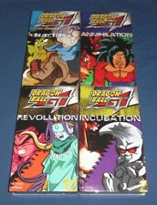 Lot (4) DRAGON BALL GT Factory Sealed VHS Video Tapes Lost Episodes Rejection Z