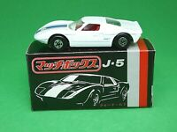 Matchbox Lesney No.41c Ford GT 40 In Type J-5 Japanese Box
