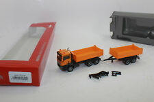 Herpa H0 308090 Man TGS M C Construction Tipper Tandem Trailer Epoch Vi.
