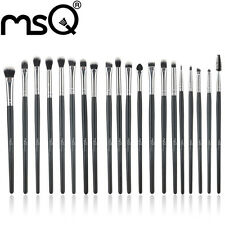 MSQ Professional 20Pcs/Sets Eye Shadow Foundation Eyebrow Lip Brush Makeup Brush
