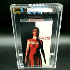 AWU - 2003 Carrie Cult Horror IGS graded grading sealed vhs cover seal new flick