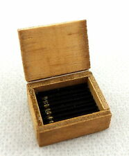 Dolls House Miniature Box of Cigars Pub Bar Den Study Accessory 1:12 Scale