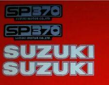 SUZUKI SP370 RED BIKE DECAL KIT