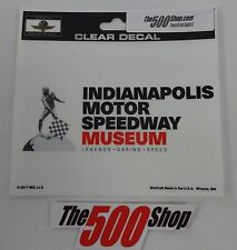 Indianapolis Motor Speedway Museum Collector Decal IMS Indy 500 Brickyard 400