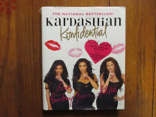 "KOURTNEY & KHLOE KARDASHIAN  Signed Book(""KARDASHIAN KONFIDENTIAL""-2011 Hardback"