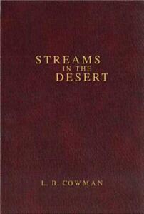 Streams in the Desert by C. Cowman; Charles E. Cowman