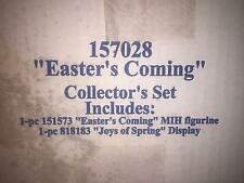 "Hummel ""Easter's Coming - Easter Basket Gift Set"" #2027 +1059D MIB R9573-30  MIB"
