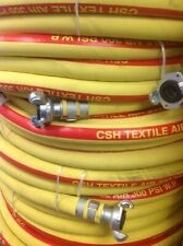 Csh Yllwred Jackhammer Air Hose Assembly 34 X 50 With Chicago Style Fittings
