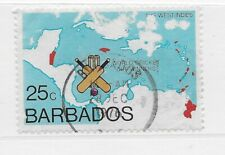 1976 Barbados Sc# 438 used 1975 World Cricket Cup winners