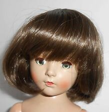 {#2A} Adorable medium brown page boy style doll wig size 8-9