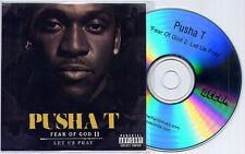 PUSHA T Fear Of God 2: Let Us Pray UK 10-trk promo CD Pharrell Tyler The Creator