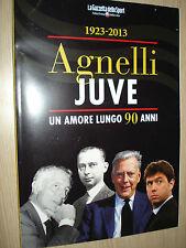 PHOTO BOOK LIBRO AGNELLI JUVE UN AMORE LUNGO 90 ANNI 1923-2013 JUVENTUS FC