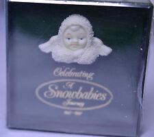 Nib 1997 Dept. 56 Bisque Friendship Pin Celebrating A Snowbabies Journey 1987-97
