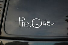 The Cure Sticker Decal Vinyl (V10) Rock Gothic Lp Record Joy Division Siouxsie