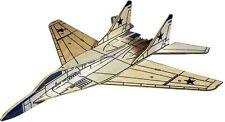 MIG 29 Fulcrum: West Wings Simple Profile Glider Balsa Wood Model Plane Kit WW42