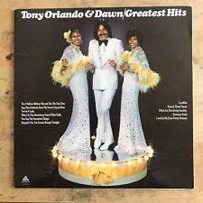 Tony Orlando & Dawn Greatest Hits 1975 Vinyl LP Arista Records AL 4045