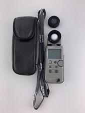 Sekonic l-358 light flash exposure meter case photography digital
