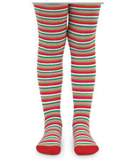 Girls Christmas Tights Size 6-8 years Striped Holiday Stripes Jefferies Boutique