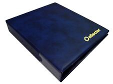 Collector Coin Album 300 Coins Mix Sizes Book Folder Big Capacity BLUE /N2