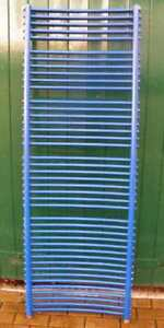 Badheizkörper Heizkörper Handtuch 60x177cm (HK-blau)