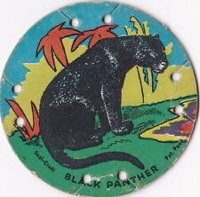 1930's M30 St. Louis Seal Craft Animal Series Disk Black Panther #21