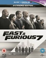 Fast And Furious 7 (Region B & A) Blu Ray *NEW & SEALED*, FAST UK DISPATCH!