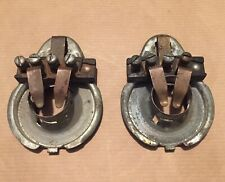 Rare VW Split Oval Window Beetle Barndoor Bus Pair Headlamp Bulb Holders NOS