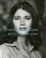 Young LYNDA CARTER Headshot Portrait ** FINE ART ARCHIVAL PHOTO (8.5x11)