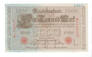 Germany - 1910, 1000 Mark