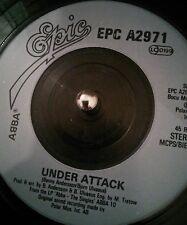 """ABBA – Under Attack  1982 7"""" Vinyl Single PC A 2971"""