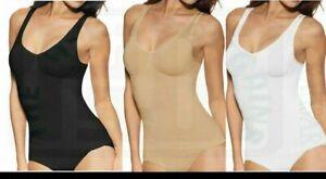 Womens BODY SHAPER  SEAMLESS TUMMY CONTROL VEST SLIMMING SHAPEWEAR TOP S-3XL