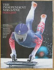 Team GB's Skeleton Women - The Independent magazine – 1 March 2014