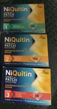 NIQUITIN CLEAR Patches - Step 1 X 7 , Step 2 X 7 and Step 3 X 7