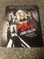 Sin City A Dame To Kill For Blu-ray With Slipcover, 3D, Dvd, & Bonus Disc.