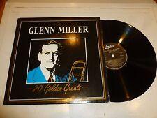 """GLENN MILLER - THE GLENN MILLER COLLECTION """"20 Golden Greats"""" - 1987 UK 20-track"""