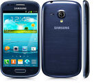 Samsung Galaxy S III Mini GT-I8190 8GB 5MP Wifi Pebble BLUE Unlocked Smartphone
