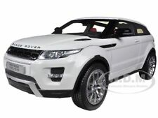 LAND ROVER RANGE ROVER EVOQUE WHITE W/WHITE ROOF 1/18 WELLY 11003