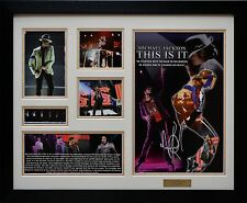 Michael Jackson Limited Edition Signature Framed Memorabilia New (w)