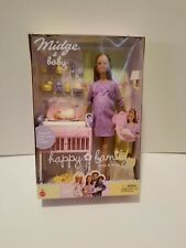 Happy Family PREGNANT MIDGE AND BABY Barbie 2002 NRFB