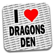 I Love Dragons Den Bebidas Posavasos-Regalo-Cumpleaños-Stocking Filler
