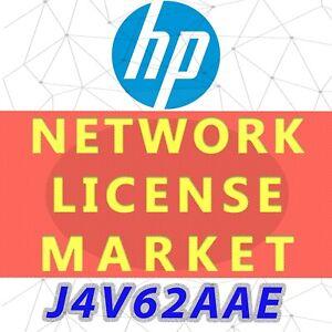 J4V62AAE HPE B-ser Mid/High End Fabric Wtch E-LTU:B Series  License, E-Delivery