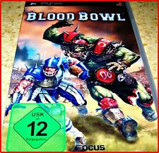 Sony PSP Blood Bowl Tactics from Games Workshop Complete in German First Edition