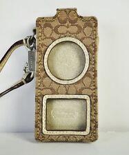 COACH signature Ipod nano case holder