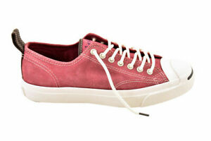 Converse Unisex Jack Purcell Ltt Oxheart Shoes Leather Red Size UK 10