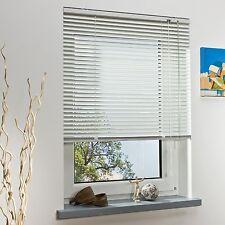 Liedeco   Aluminium-Jalousie   weiß Breit 80 cm x Höhe 200 cm für Balkontüren