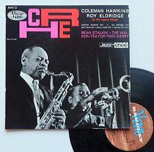 "Vinyle 33T Coleman Hawkins / Roy Eldridge   ""At the opera house"" - 25cm"