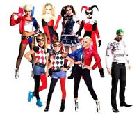 Official Suicide Squad HARLEY QUINN Fancy Dress Costume Ladies Girls TV Film Kit