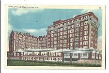 Old Postcard Hotel Strand Atlantic City New Jersey Beach Tichnor Quality Views